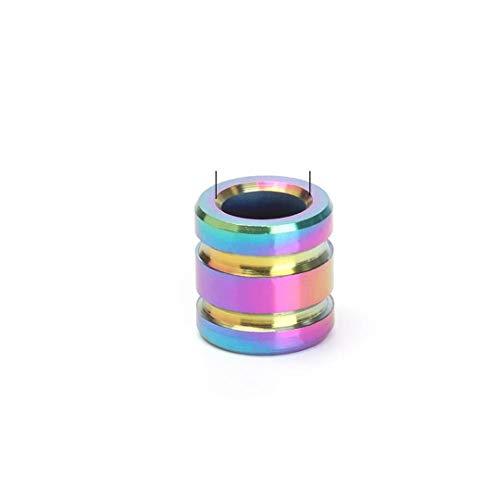 EKimmer 1 Pc Titanium Alloy TC4 Knife Beads Ropes Lanyard Camping EDC Gadgets Rope Pendant Multi Tools Style 2