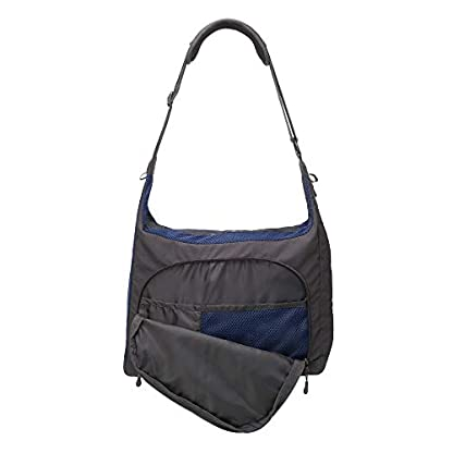 PRECIOUS CARGO Pet Carrier Sling - Charcoal w/Navy 3