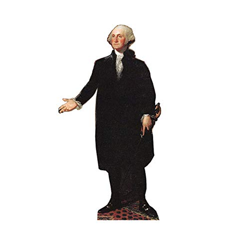 Advanced Graphics President George Washington Life Size Cardboard Cutout Standup