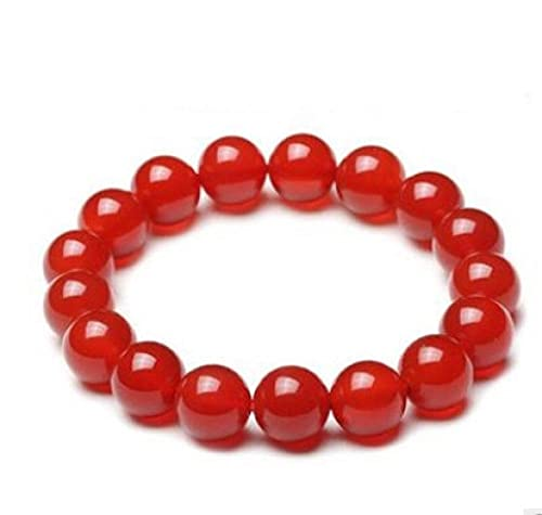 Beaded Bracelets For Women Natural 8Mm Stone Agate Crystal Bracelet Gemstone Bracelet For Calming