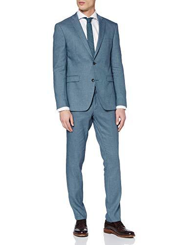 ESPRIT Collection Herren 030EO2M302 Anzug, Blau (Dark Blue 5 409), (Herstellergröße: 50)