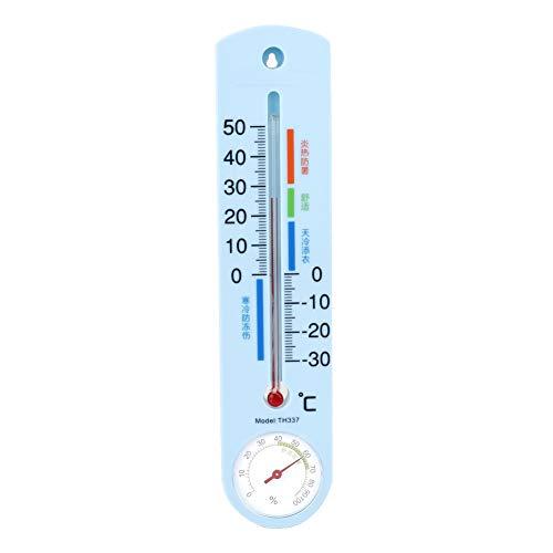 Leinggg Gewächshaus-Thermometer - Gewächshaus-Wandthermometer zur Überwachung der Innentemperatur des Thermo-Hygrometers