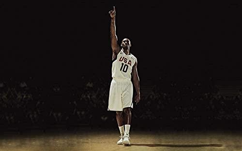 Rompecabezas de 1000 piezas para adultos, Kobe Bryant, baloncesto, educativo, intelectual, juguete de descompresión, divertido juego familiar para niños, adultos, desafiantes, rompecabezas, regalo