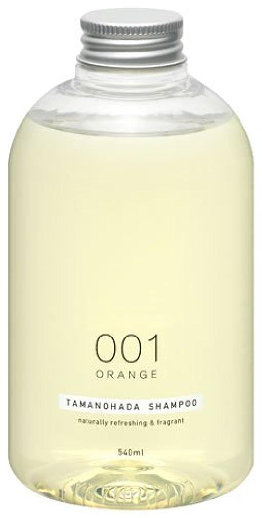 リネン凍ったダイアクリティカルタマノハダ シャンプー 001 オレンジ 540ml
