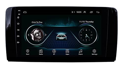 GTFHUH Android Car Radio de Navegación GPS para Mercedes Benz W251 R280 R300 2006-2013 con 9 Pulgada Pantalla Táctil Support FM Am RDS DSP/MP5 Player/BT Steering Wheel Control/Carplay WiF