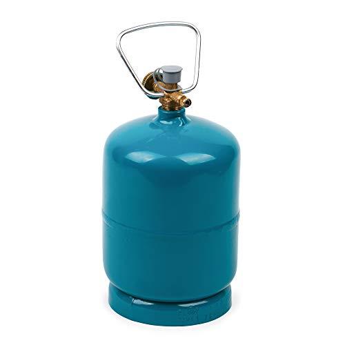 BFG Propan-Butan-Gasflasche, zum Befüllen | in verschiedenen Größen erhältlich, 1 kg | Eigentumsflasche, neu, ungefüllt
