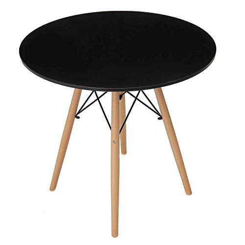 Mesa baja, mesa redonda moderna, café, comedor, oficina, patas de madera, tarde,...