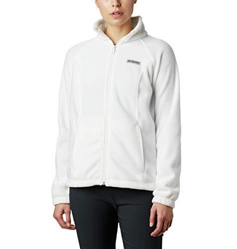 Columbia womens Benton Springs Full Zip Fleece Jacket, Sea Salt, 3X US