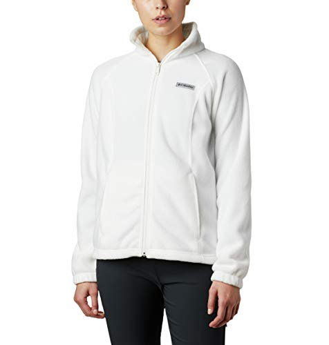 Columbia womens Benton Springs Full Zip Fleece Jacket, Sea Salt, X-Large US
