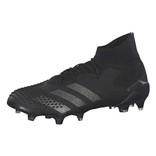 adidas Predator Mutator 20.1 Firm Ground, Zapatillas de fútbol Hombre, Cblack Silvmt, 42 EU