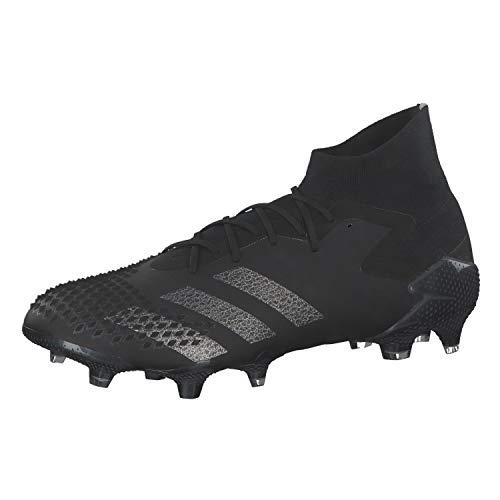 adidas Predator Mutator 20.1 Firm Ground, Zapatillas de fútbol para Hombre, Cblack Silvmt, 42 EU