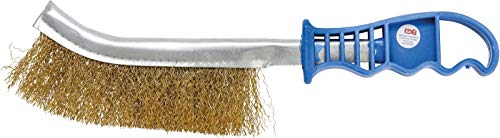 BGS 3173 | Brosse en fil d'acier | laitonnée | 260 mm