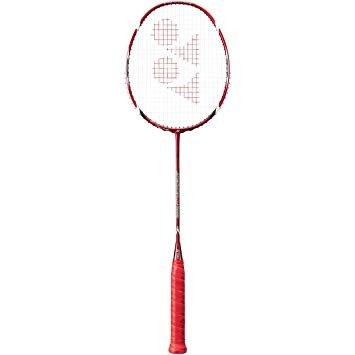 YONEX Voltric 10 Taufik Strung Badminton Racquet (Red, G4,...