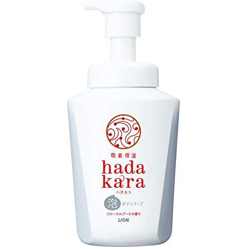 ハダカラ hadakara ボディソープ 泡タイプ 洗い流すタイプ フローラルブーケの香り 550ml