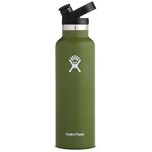 Hydro Flask 21 oz Water Bottle, Sport Cap - Olive