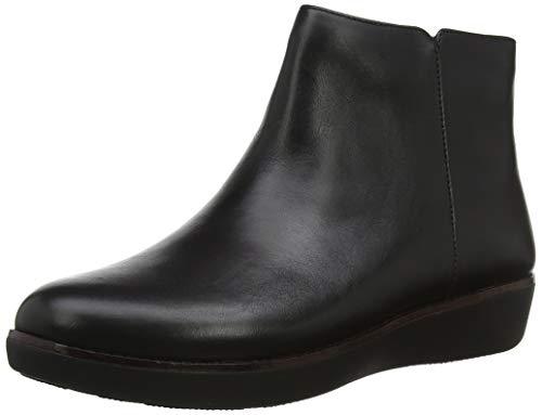 FitFlop Women's Boot Ziggy, Black, 7.5 M US