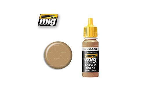 Ammo MIG-0088 khaki brązowe farby akrylowe (17 ml), wielokolorowe