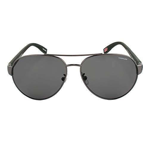Chopard Gafas de Sol Hombre SCH-B35-568P (Diametro 60 mm), Gray, Talla Unica Unisex-Adult