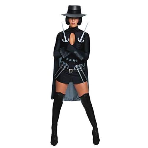Rubie's 889841XS Costume ufficiale Miss V per Vendetta, da donna, taglia XS