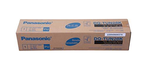 Panasonic DQ-TUN28K tóner y Cartucho láser - Tóner para impresoras láser (28000 páginas, Laser, Negro, Caja)