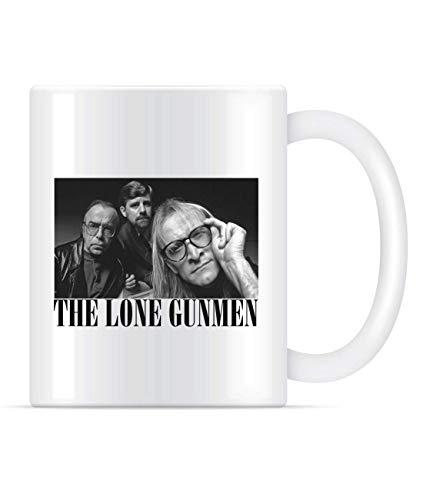The Lone Gunmen (X-Files) Tasse à café style Grunge pour homme et femme