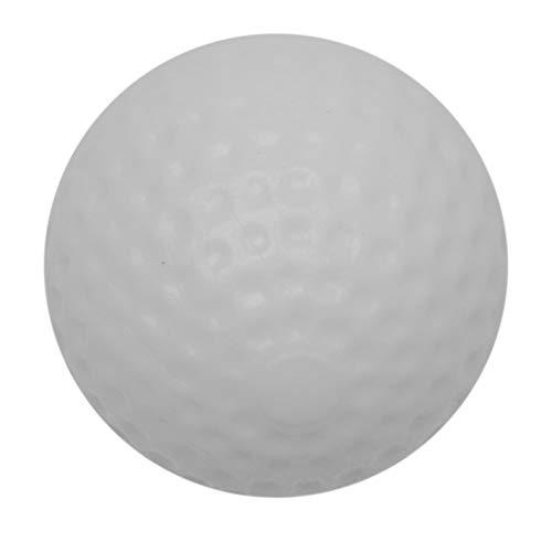 Dunlop Golf Ball 30 Prozent, weiß, leicht, Design Game-Accessoire, 6 Stück