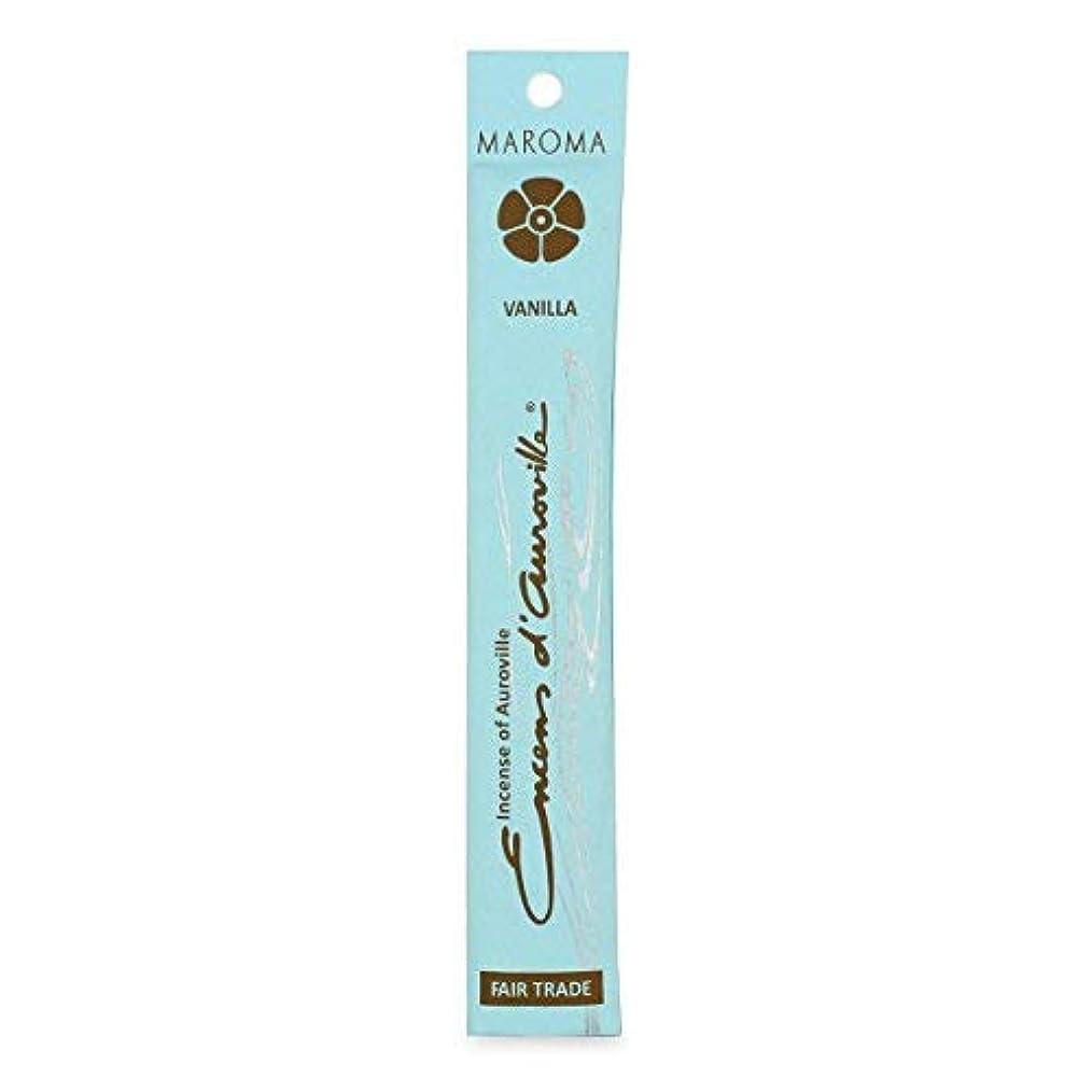 公演鳴らすそれからMaroma Vanilla Incense 10 sticks [並行輸入品]