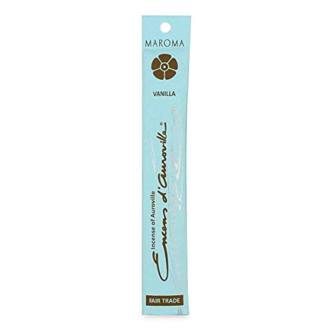 シェーバー水を飲むを通してMaroma Vanilla Incense 10 sticks [並行輸入品]
