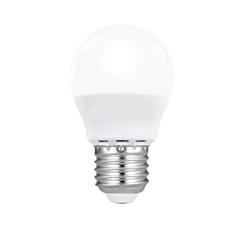 LED Bulb casa Luminosa Eccellente Risparmio energetico E27 Vite Sorgente Luminosa High Power Energy Saving Durevole Lampadina Standard (Color : Warm Light, Size : 10PCS)