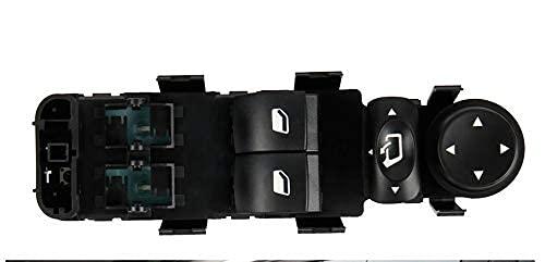 VSLIFE / Ajuste para - Citroen / C4 Ventana De Ventanas Pulsador De Ventanas Eléctrico Levantador De Ventanas Push Button Switch Panel Auto Parts 2004-2011 Reemplazo de Palanca de Cambios
