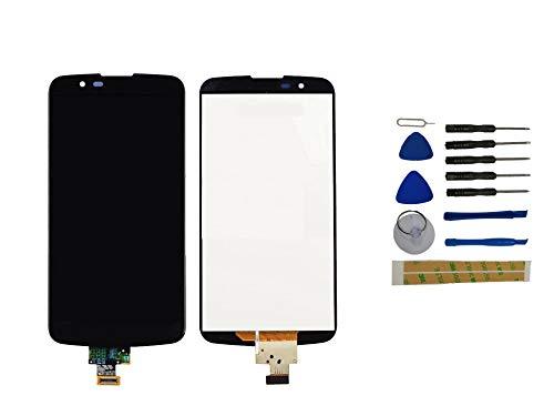 Yixi Pantalla para LG K10 LTE K420N K430 K430ds Pantall LCD Pantalla Táctil Negro Repuesto de Pantalla Recambio (sin Marco)
