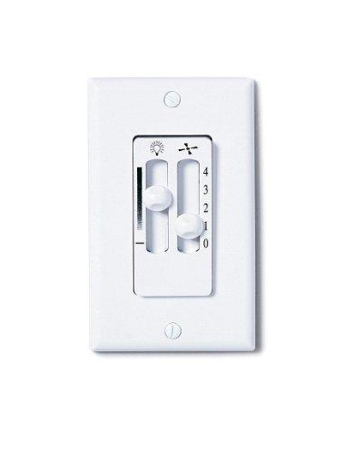 Emerson Ceiling Fans SW90W Dual Slide Ceiling Fan-Light Control, White