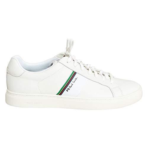 Paul Smith Rex - Scarpe da ginnastica in pelle, colore: Bianco, Bianco (bianco), 40 2/3 EU