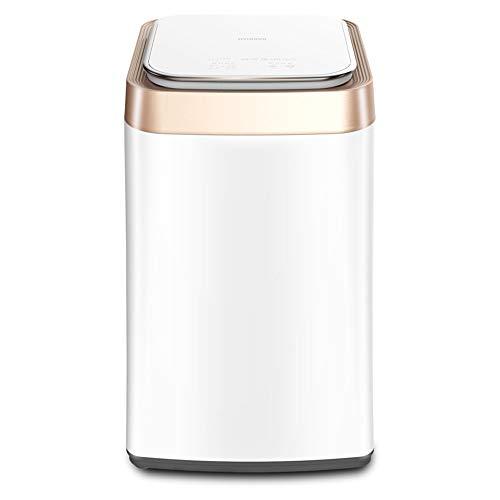 STAR BABY Cita Inteligente automática de Montaje Trasero de la Pantalla táctil portátil Capacidad 3,5 kg Lavadoras y Secadoras (Color: Blanco, Tamaño: 44,0 * 45,5 * 79.0cm)