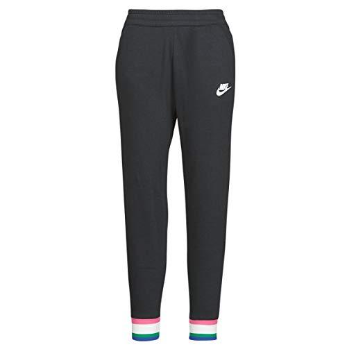 NIKE Sportswear Heritage Women's Fleece Joggers CU5909-010 BLACKSAILWHITE