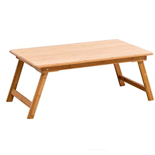 Mesa plegable, mesa for computadora portátil de bambú, sofá cama, mesa portátil plegable for computadora portátil y mesa de comedor, mesa plegable conveniente, disponible en seis tamaños Mesas de acam