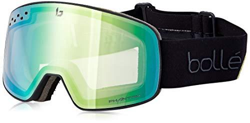 Bolle Gafas VENTISCA Nevada Matte Black & Green S1-3-única