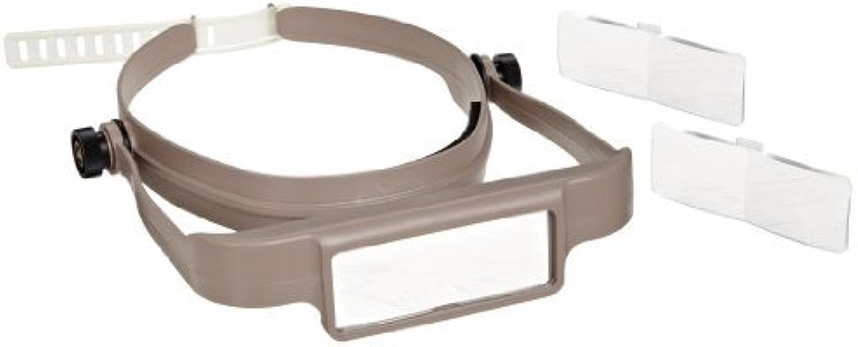 Donegan OSC OptiSIGHT Binocular Magnifying Visor, Tan by Donegan Optical