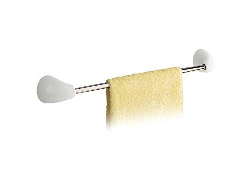 Roca a380377001Handtuchhalter Waschbecken 420Wellenlänge plus weiß Zubehör des Bad Badezimmer-Zubehör Porzellan–Serie Onda Plus–Schrauben