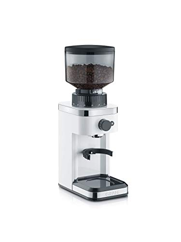 Graef CM501EU Kaffeemühle, 135, weiß
