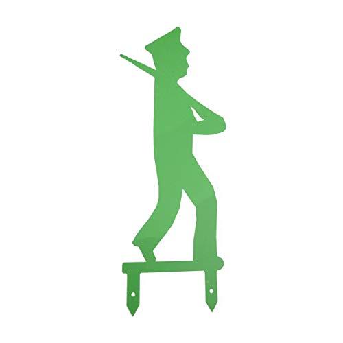 Pannenklöpper Schützenfest Männchen mit Schützenmütze/Kappe Grün