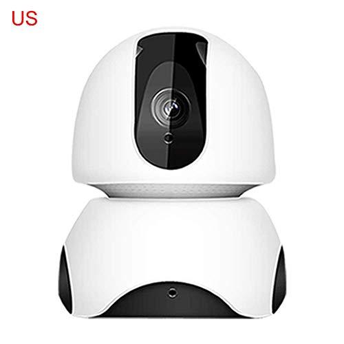 EKUPUZ Full HD WiFi Wireless Home Surveillance IP Camera Pan Tilt Surveillance Cameras with Pan/Tilt 360° View Waterproof Night Vision...