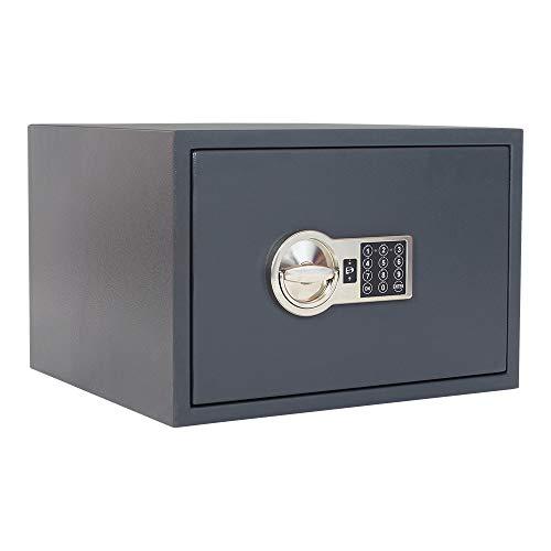 HomeDesign Safe HDS-S2-300, Elektronikschloss, Schlossschutzpanzer, Doppelwandiger Möbeltresor,