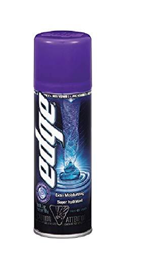 Edge Shaving Gel for Men, Extra Moisturizing with Vitamin E, 7 Ounce, Pack of 6