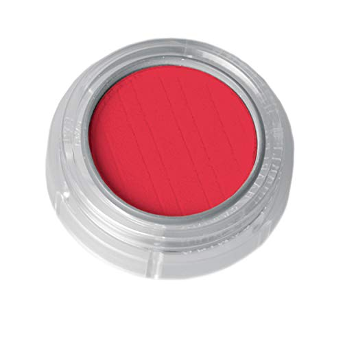 Grimas Lidschatten/Rouge, Döschen 2g, Farbe 540 Rot, Profi-Make-Up, hochpigmentiert