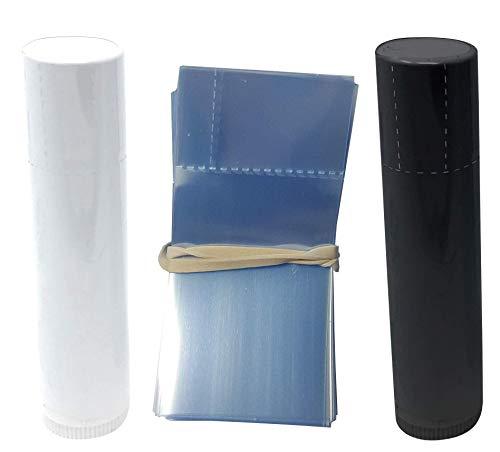 Lot de 250 tubes de baume à lèvres rétractable pour tubes de baume à lèvres style Chapstick