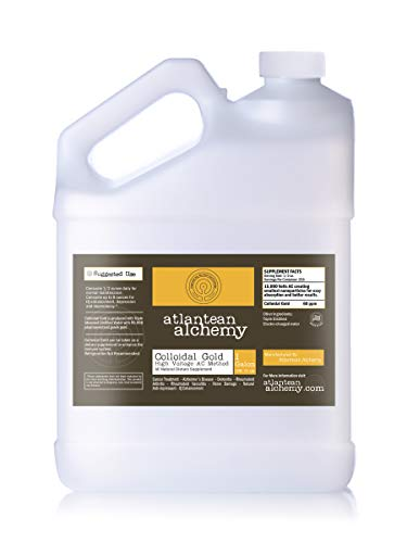 Colloidal Gold 1 Gallon 60PPM