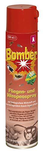 Kerbl 299734 Bomber 600 ml Aerosolspray gegen Fliegen und Wespen
