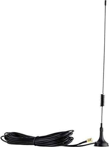 RaspberryMatic 868 MHz 7dBi Magnetfuß Antenne mit 3m Kabel extern SMA kompatibel mit CCU CCU2 CCU3 Charly Raspberry Pi CUL USB CC1101 FIBARO GSM ELV Bausatz pivCCU Homematic & 15cm Pigtail