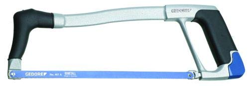 GEDORE SB 407 Bügelsäge inkl. Bimetall-Blatt, Blau